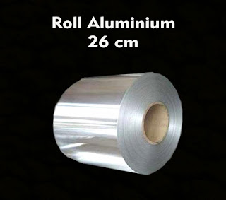 kemasan roll aluminium foil untuk gula semut