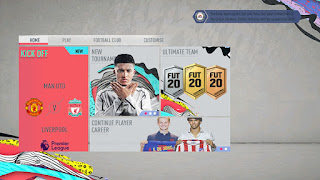 New Graphic Menu Like FIFA 20
