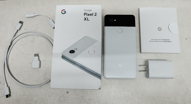Buka-Kotak Google Pixel 2 XL, Telefon Keluaran Google