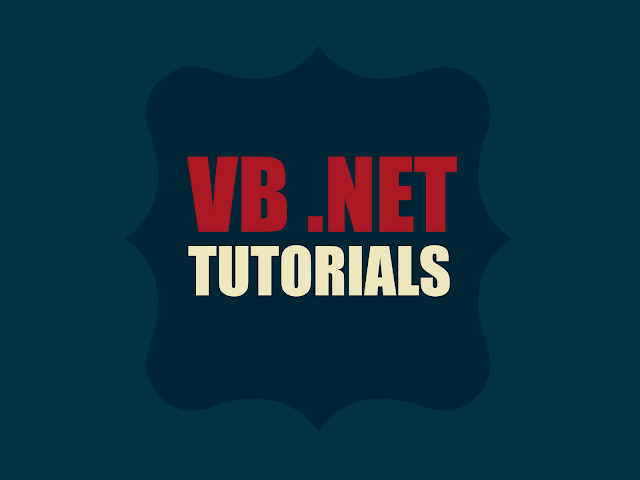 VB .NET Tutorials