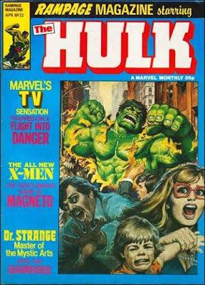 Rampage Magazine #22, the Hulk