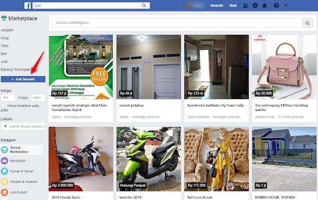 Cara Menjual Barang Di Facebook Marketplace Cara Menjual Barang Di Facebook Marketplace