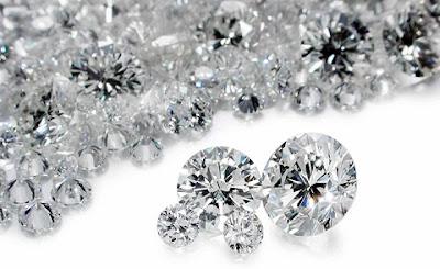 Diamantes.