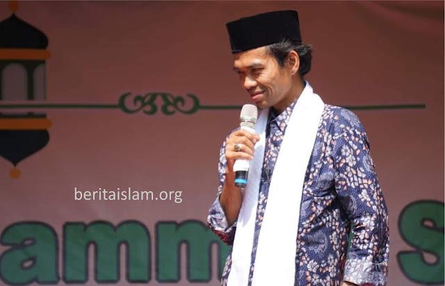 Jika Khutbah Jum'at Lupa Baca Sholawat, Begini Kata Ustadz Abdul Somad