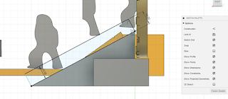 sketch a rectangle for the stair