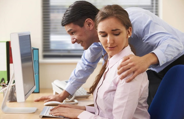 sexual harassment at work what to do inappropriate coworker touching