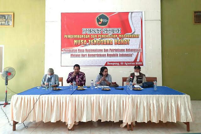 Di momen kemerdekaan, PSP2M NTB gelar diskusi kebangsaan