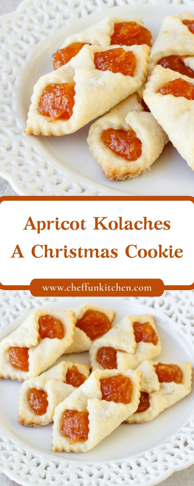 Apricot Kolaches – A Christmas Cookie