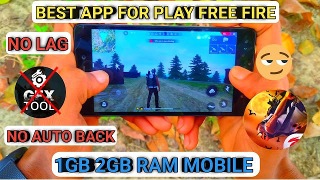 Best App For Play Free Fire Smoothly | No Lag Gameplay | SB TECHNO