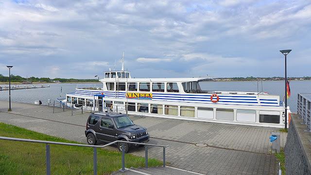 Seit Ende Mai 2020 finden wieder Fahrten auf dem Großen Goitzschesee statt