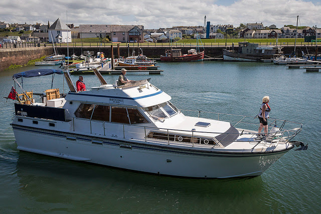 Photo of Ravensdale coming back into Maryport Marina by Jan Fialkowski