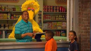 Big Bird, Chris, Sesame Street Episode 4407 Still Life With Cookie season 44