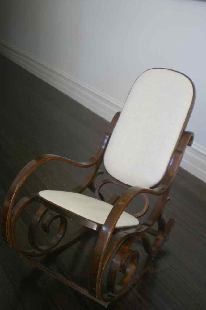 how to make a rocking chair antique wood style my home: refurbished