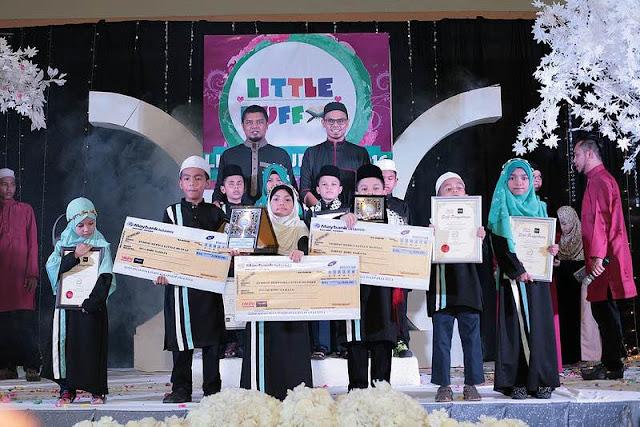 Budak 8 Tahun Juara Little Hufaz