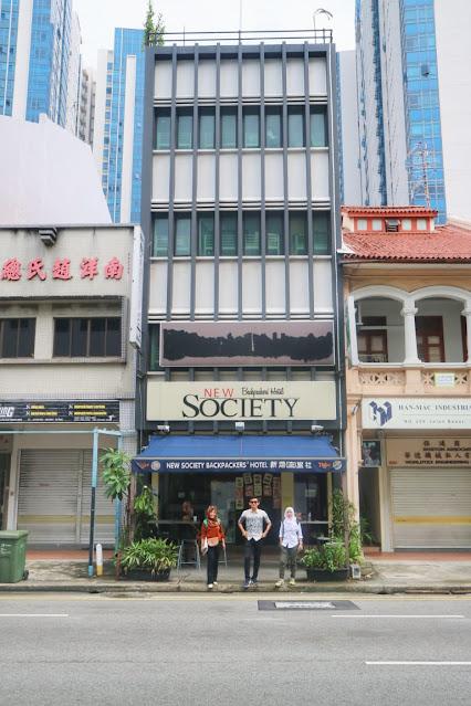 hostel singapura