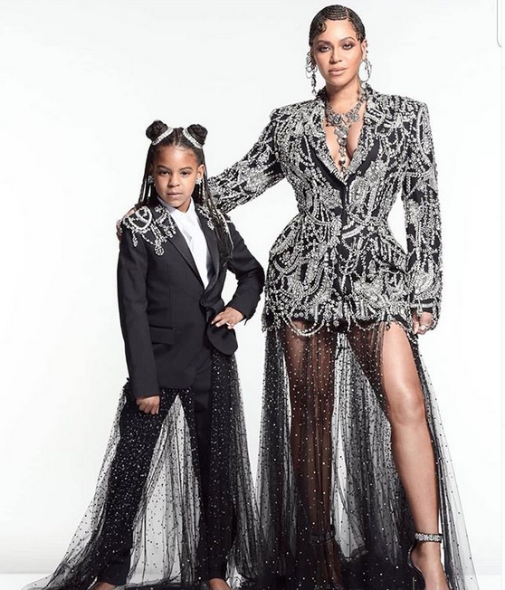 Check out this photo of Beyonce and daughter Blue Ivy