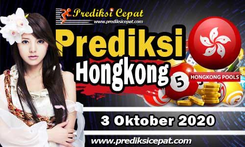 Prediksi Togel HK 3 Oktober 2020