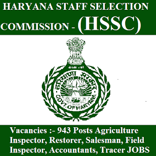 Haryana Staff Selection Commission, HSSC, freejobalert, Sarkari Naukri, HSSC Answer Key, Answer Key, hssc logo