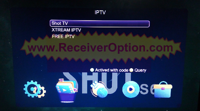 ONE SHOT S6W PLUS 1506TV NEW SOFTWARE WITH ECAST OPTION