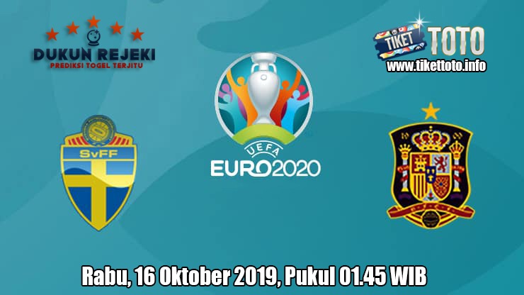 Prediksi Euro Qualification Swedia VS Spanyol 16 Oktober 2019