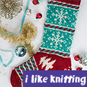 December Dreaming Stocking, from I Like Knitting magazine