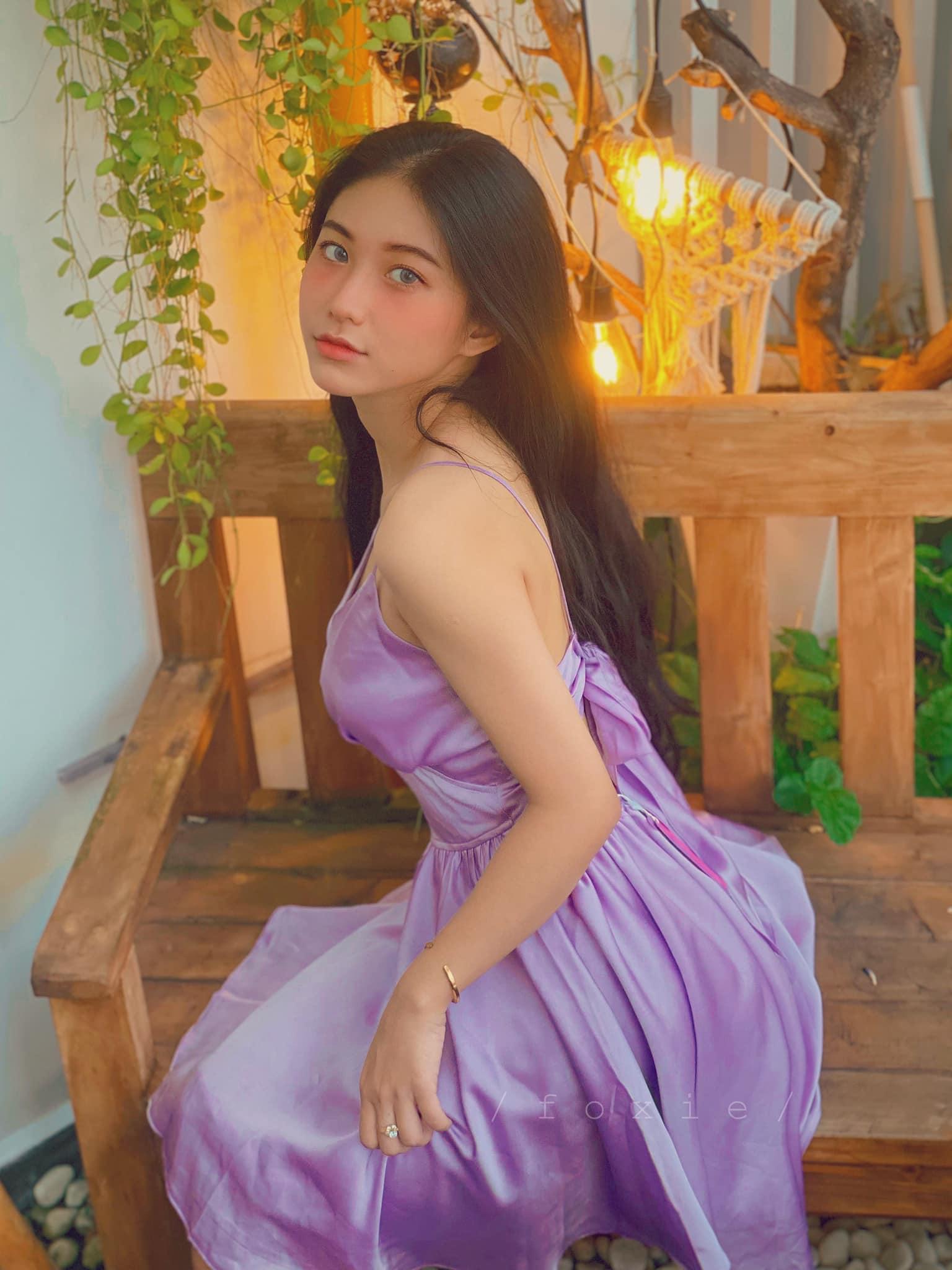Hot girl Nguyễn Thị Kim Anh xinh xắn và cực dễ thương - 10