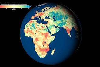 Já é possível saber através de um mapa quais as regiões do nosso planeta mais tem água graças a Nasa