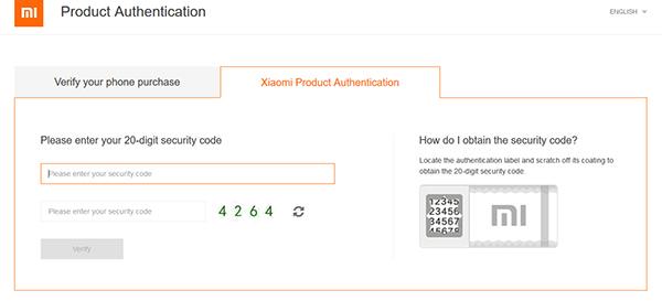 Verifikasi Security Code
