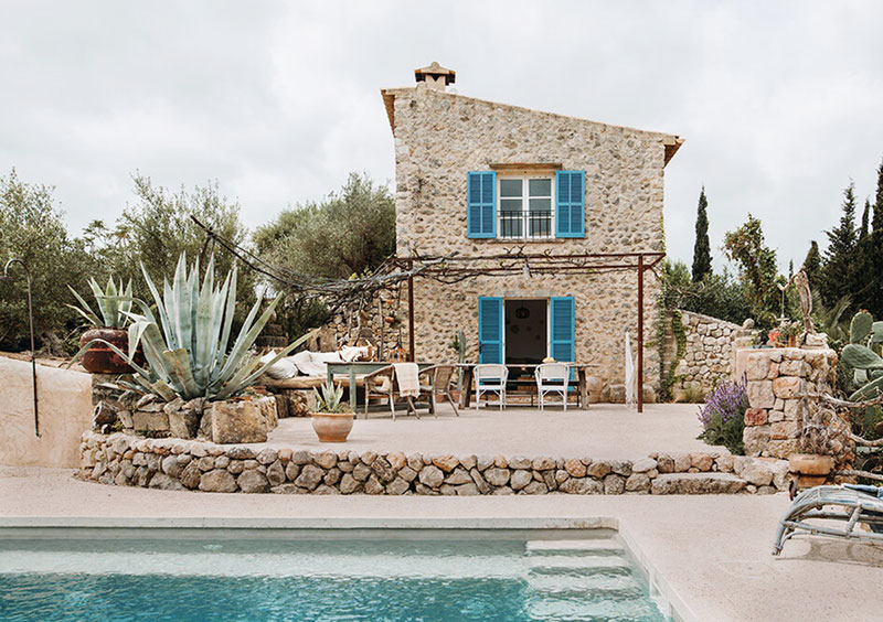 Сharming traditional stone house in Mallorca
