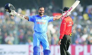 Shikhar Dhawan 119 vs West Indies | 5th ODI Hundred Highlights