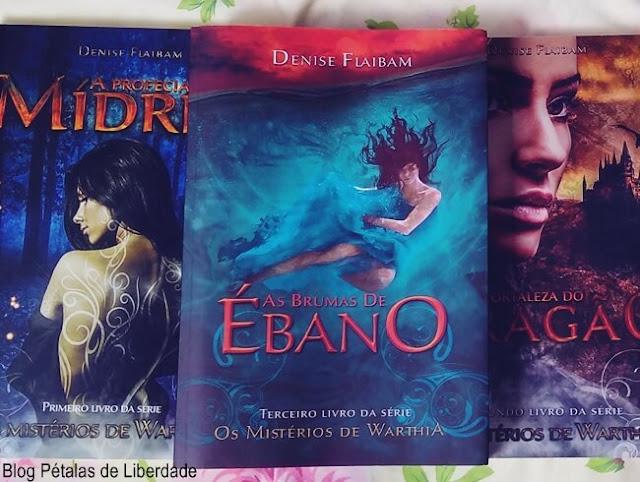 Resenha, livro, As brumas de ébano, Denise Flaibam, blog literario, Mundo Uno Editora, Os misterios de Warthia