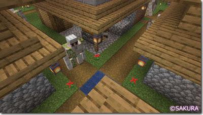 Minecraft アイアンゴーレムトラップ