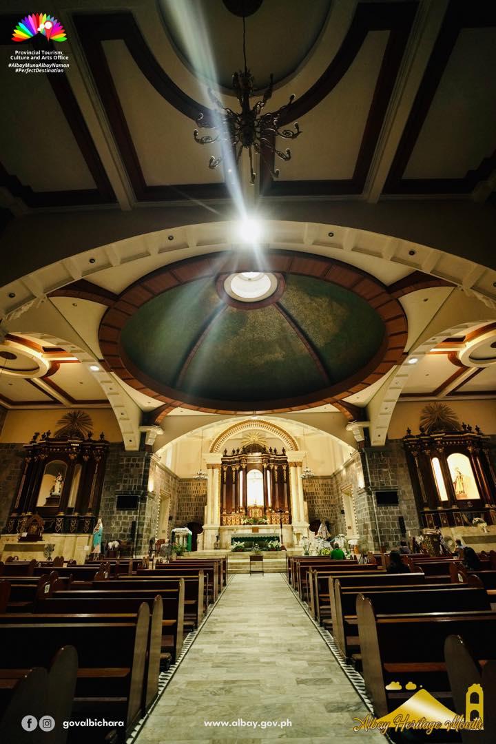 Saint John the Baptist Parish Church is a Roman Catholic Church in Tabaco City, Albay.