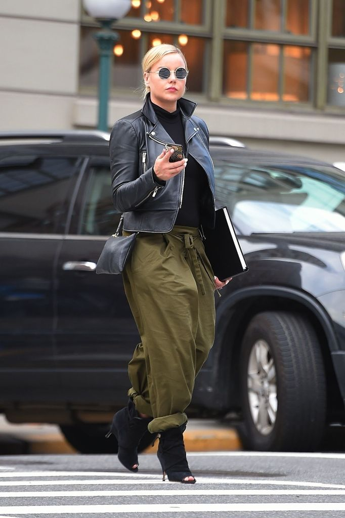 Abbie Cornish Casual Style Out in New York