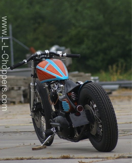 Harley Davidson Ironhead By L&L Choppers Hell Kustom