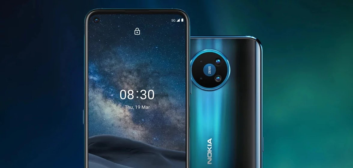 Nokia 8.3 5G Mobile Phone appears on Amazon