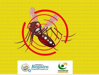 Número de confirmações de dengue em Registro-SP estabiliza