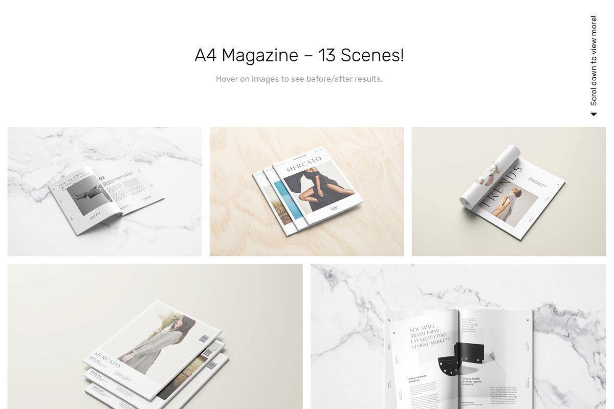 Magazine Mockups 52 Scenes 5198551...