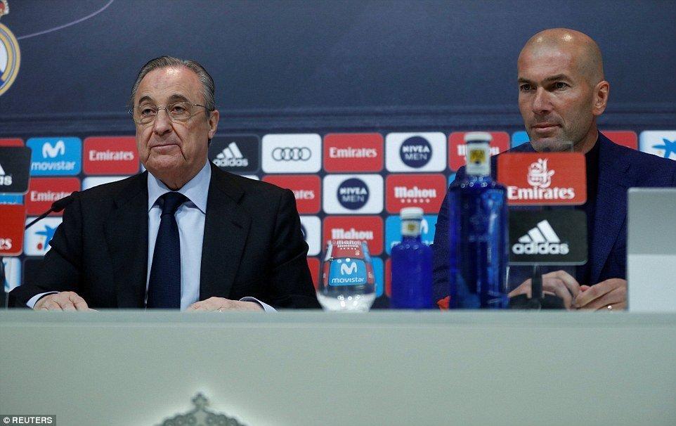 DEGDEG: Zinedine Zidane oo isaga tagay Real Madrid Maalmo kadib Ku Guuleysigiisa Champions League.