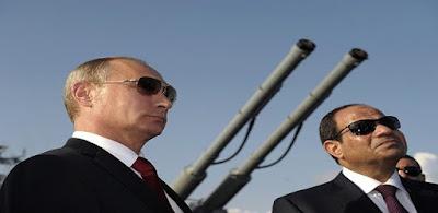 الرئيس عبد الفتاح السيسي و بوتين