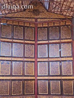 ukiran Al-Qur'an raksasa (2)