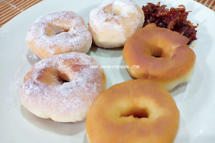 resepi, donut lembut, resepi donut lembut, donut gebu,