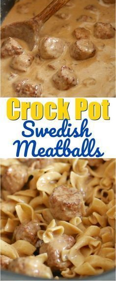 Crock Pot Swedish Meatballs Recipe
