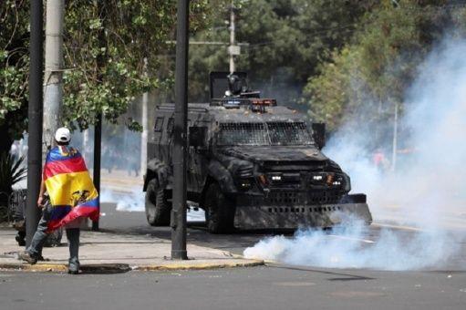 ONU llama a respetar derechos de ecuatorianos en protestas