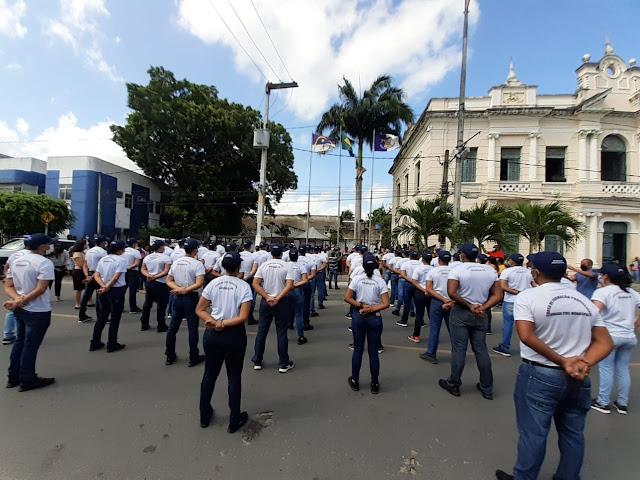 Guarda munícipal de Goiana, recebe reforço de 57 novos agentes