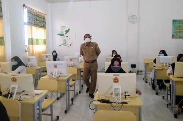 Bupati Rocky Tinjau Pelaksanaan Ujian PPPK di Aceh Timur