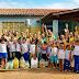 Reriutaba: Alunos e funcionários da Escola Marcelo da Cunha fazem entrega de cestas básicas às famílias carentes