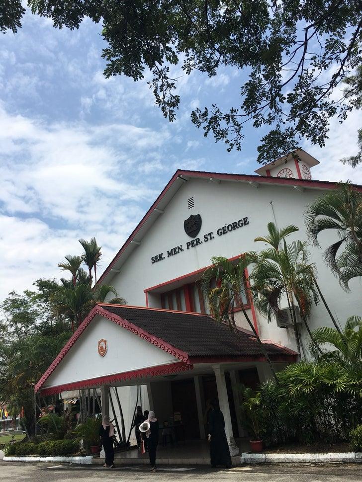 St.George Girls School, Macalister Road, Penang.