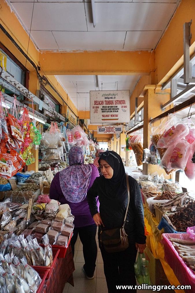 tanjung dawai market