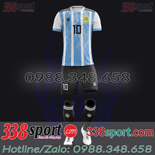 Áo Đội Tuyển Argentina Đặt May Theo Yêu Cầu - Mã AGRENTINA 04